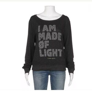 Spiritual Gangster sweatshirt small gray top